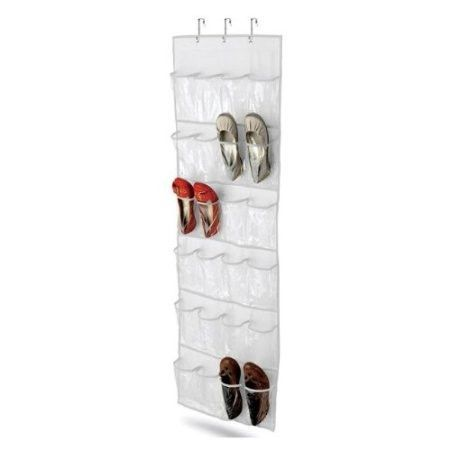 Clear White Shoe Organizer Shoe Rack - Hangs Over Door | Things to Buy Before School Starts | Pinterest | Shoes organizer Shoe rack and Doors  sc 1 st  Pinterest & Clear White Shoe Organizer Shoe Rack - Hangs Over Door | Things to ... pezcame.com