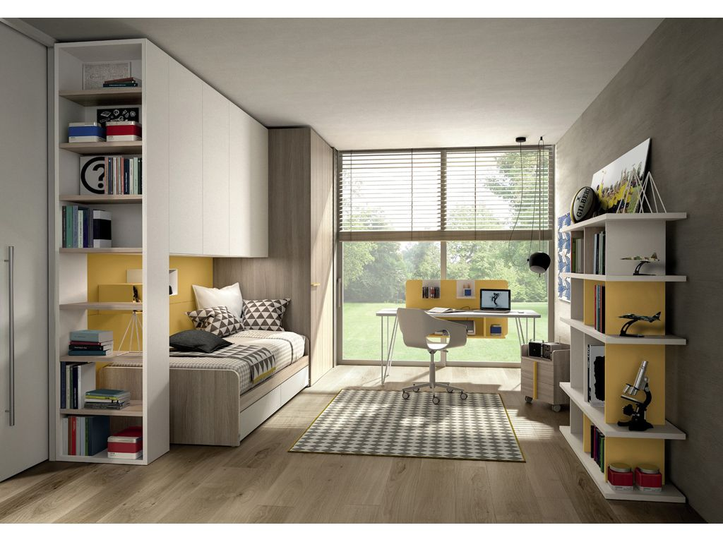 10 camerette per teenager living space camerette for Camera per ospiti