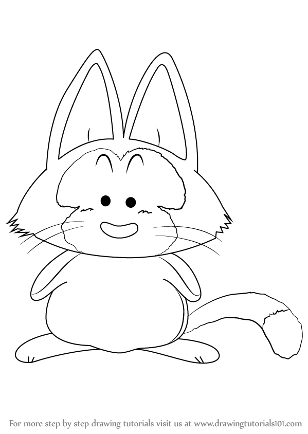 Learn How to Draw Puar from Dragon Ball Z (Dragon Ball Z