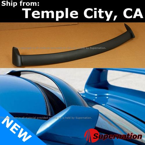 02 07 Subaru Rb5 Wrx Sti Impreza Rear Window Roof Top Primer Black Spoiler Wing Ebay Wrx Impreza Wrx Sti