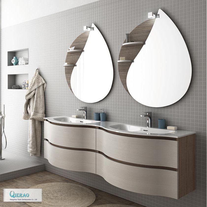 Modern European Furniture Double Sink Curved Bathroom Vanity Find Complete Details About Modern European Fur Toeletta Bagno Mobili Per Il Bagno Bagni Moderni