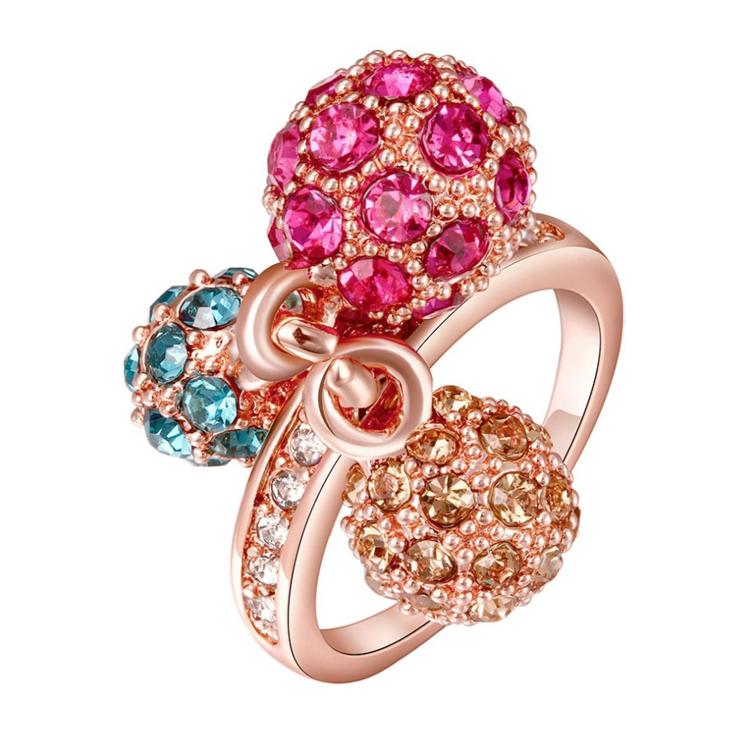 Trio Stone Ring, 50% discount @ PatPat Mom Baby Shopping App