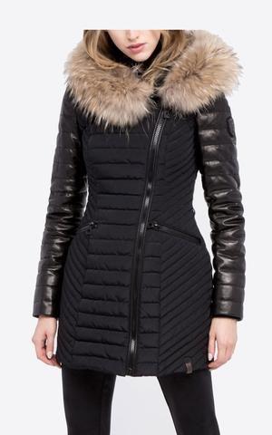 13d8df28da435 Rudsak Leather Winter Coat- Connington 8115992