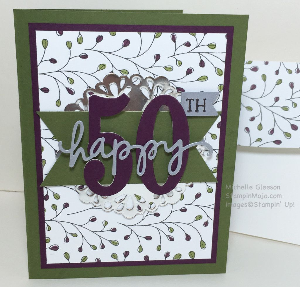 Th birthday card stampinmojo birthday cards u ideas pinterest