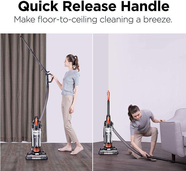 eureka PowerSpeed Turbo Spotlight Lightweight Upright Vacuum Cleaner I Amazon Must Haves I
