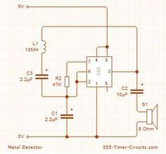 Metal detector circuit pinterest circuits metal detector circuit ccuart Choice Image