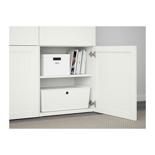 BESTÅ Aufbewahrung mit Türen - Hanviken weiß - IKEA