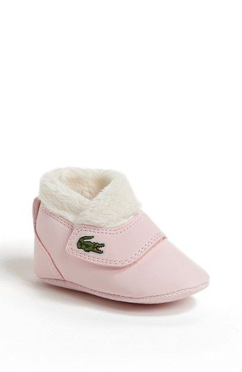 6e71cf0fa Lacoste  Snug  Crib Shoe (Baby) available at  Nordstrom