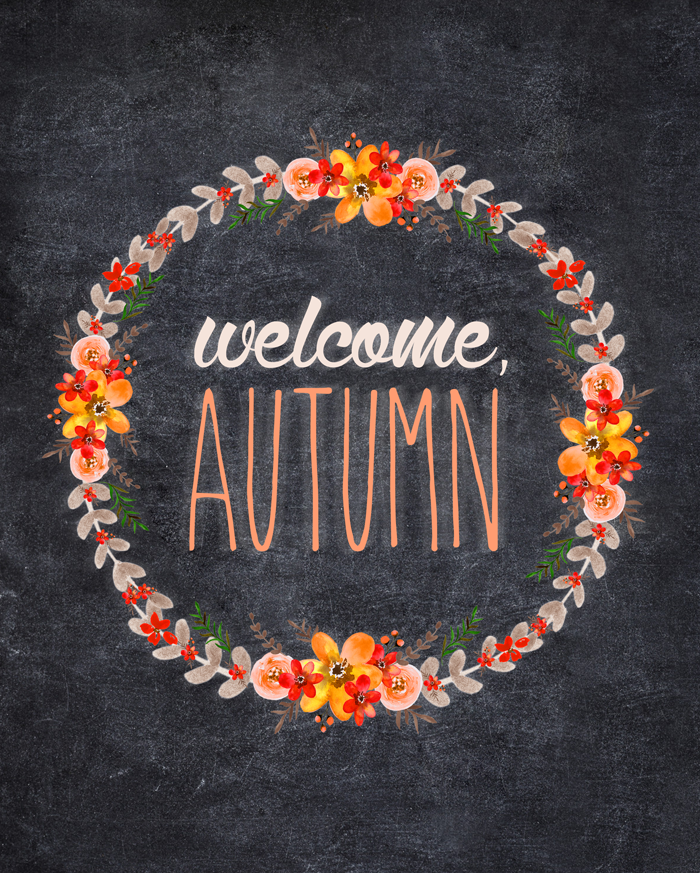 Ten pretty free fall printables #helloautumn