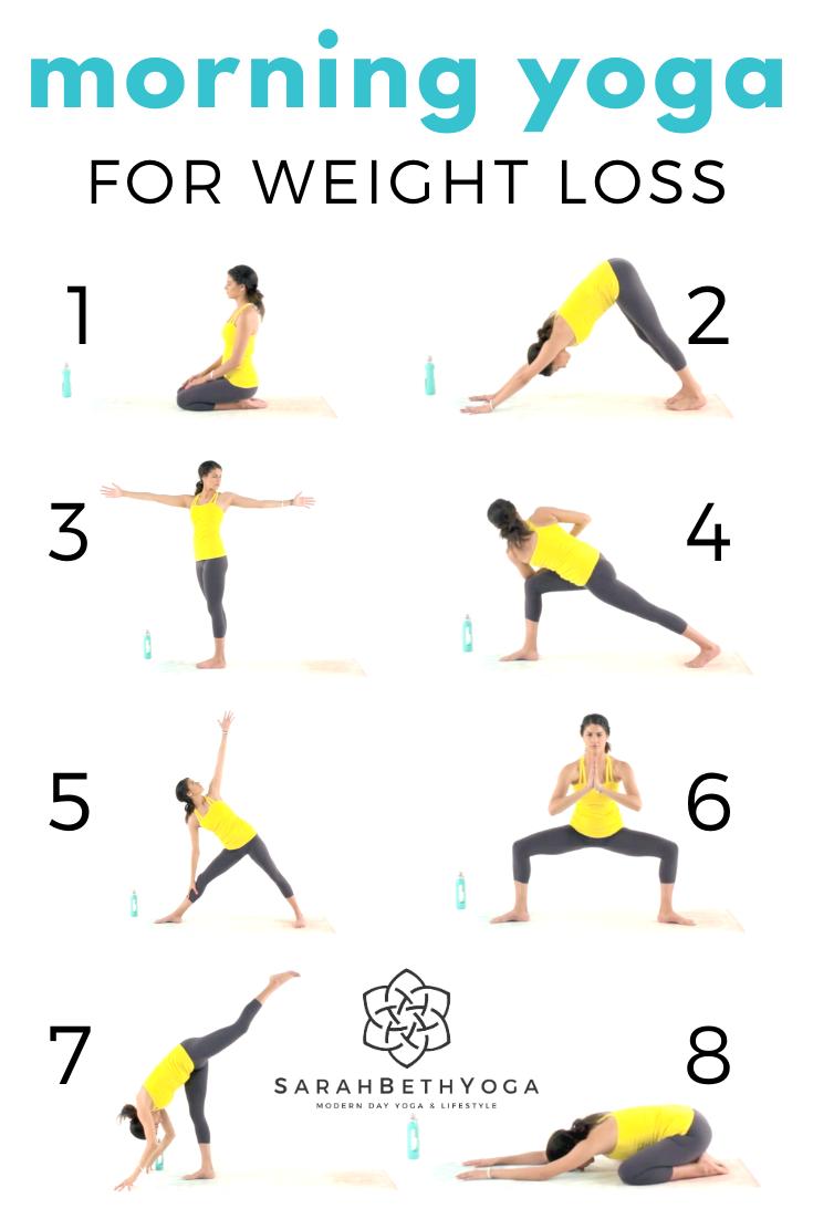 Morning Yoga For Weight Loss   Sarah Beth Yoga