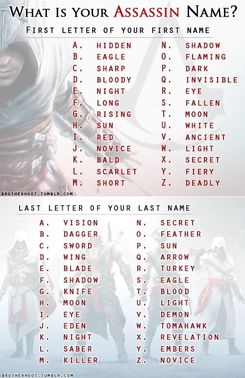 League Of Legends Name Generator : league, legends, generator, Assassins, There?, Assassin, Names,, Funny, Birthday, Scenario