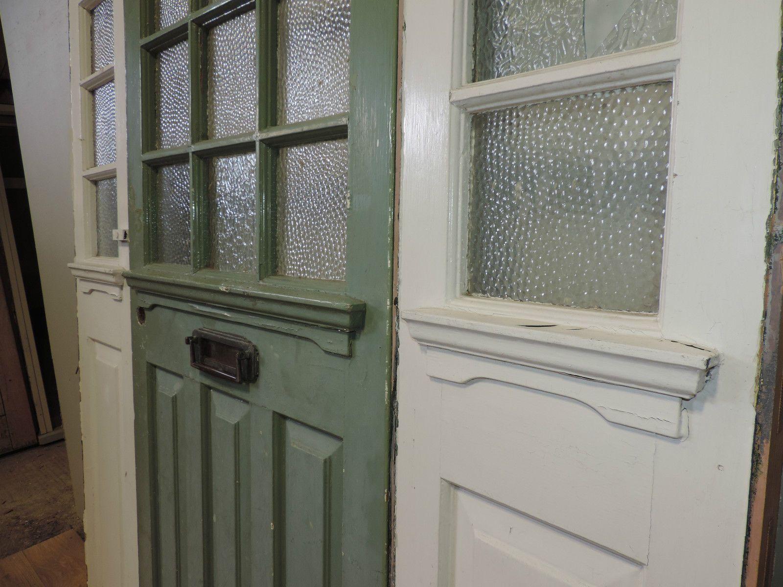 1930s Victorian Edwardian Front Door Reclaimed External Wooden