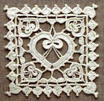 Uncinetto e crochet: Tre meravigliosi quadrati all\'uncinetto crochet ...