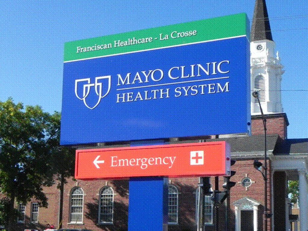 Mayo clinic health system sign health system mayo