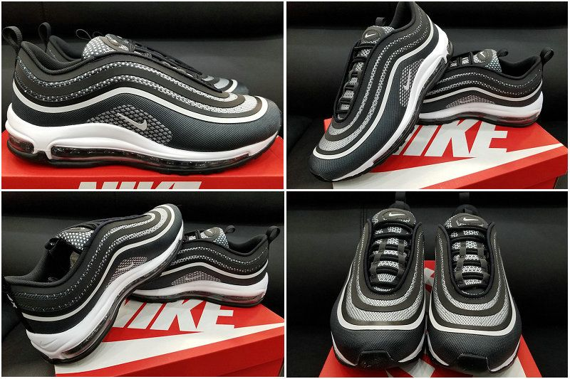 brand new a9296 cfbff 2017 Fall Winter New NIKE Air Max 97 Ultra 17 Anthracite Pure Platinum Black