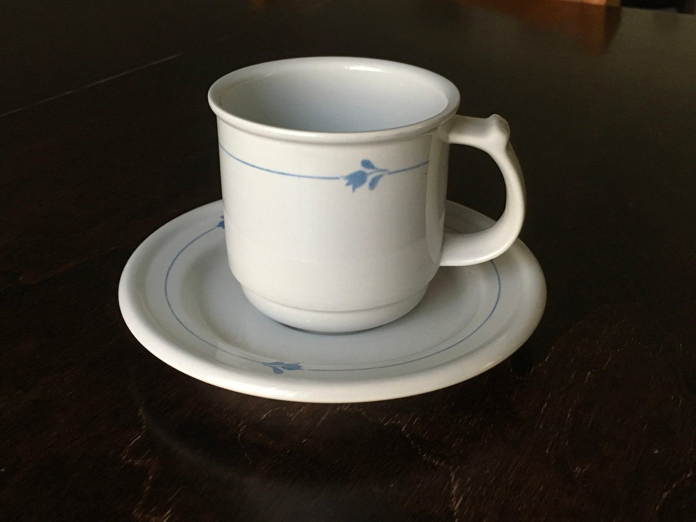 Bell Gustavsberg Sweden coffee or Tea cup and saucer // Karin Björquist