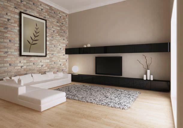 Applicazione mattoni elastolith in interno decorare casa for Casa vittoriana in mattoni