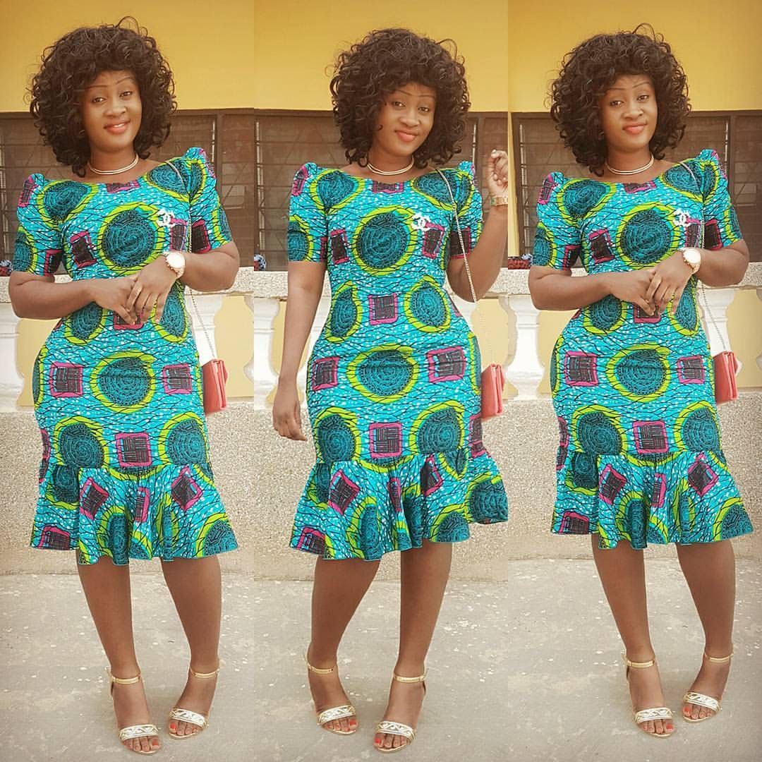 Robe Africaine: I Love The Colors In The Fabric But Not The Bulky