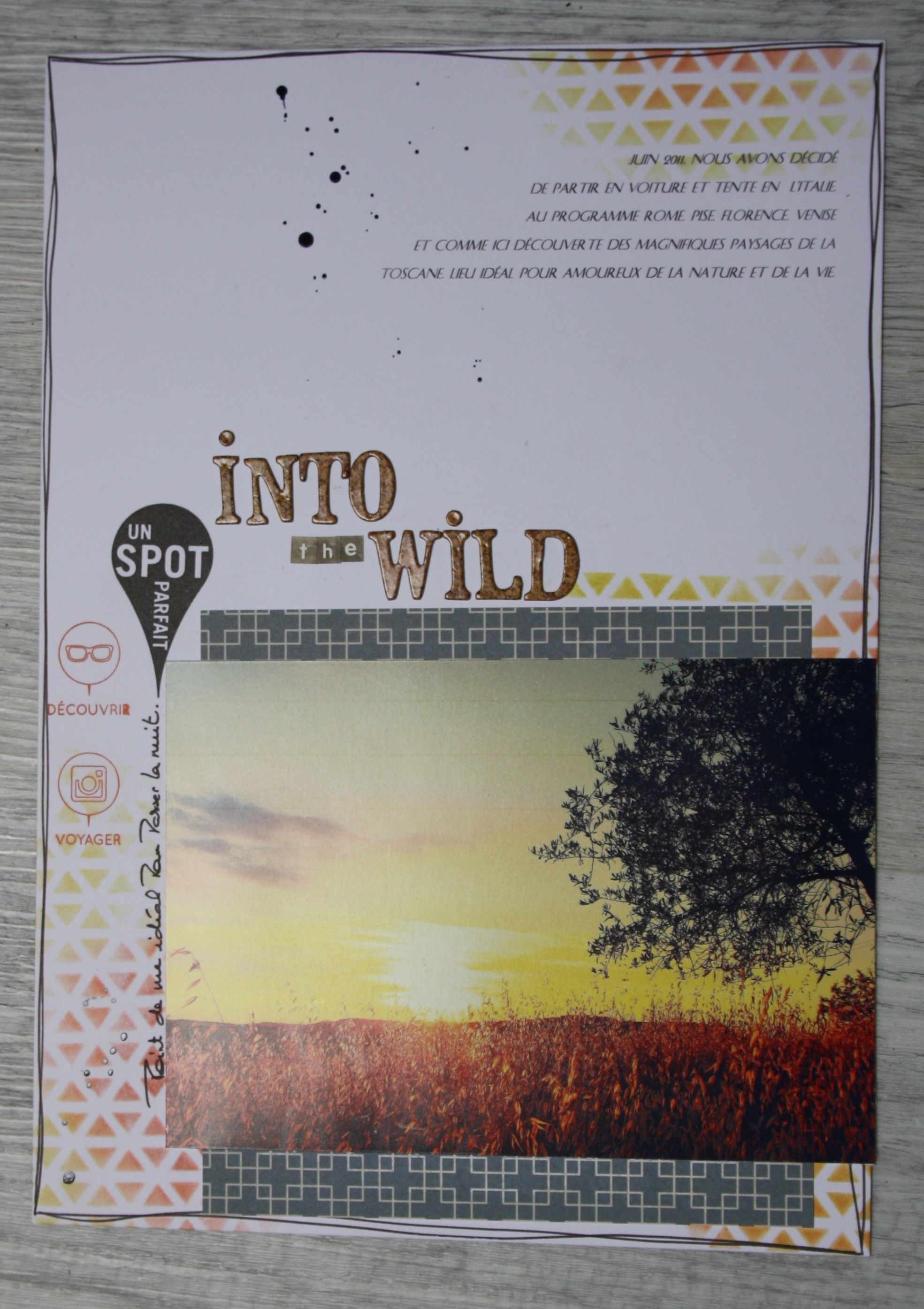 """Into the wild"" - par MilnMicoton sur www.kesi-art.com"