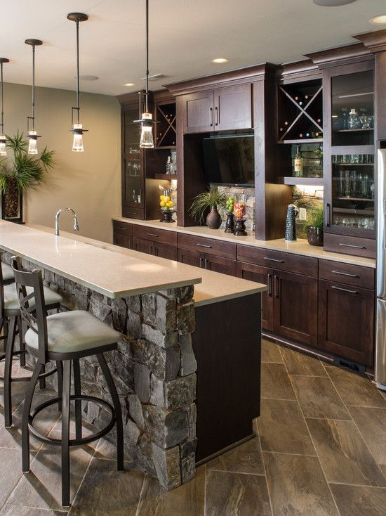 Kitchen Bars Sink Drop In 30 Stylish Contemporary Home Bar Design Ideas Man Cave Basement Wet