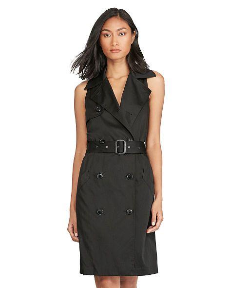 Satin Sleeveless Dress - Polo Ralph Lauren Short - RalphLauren.com