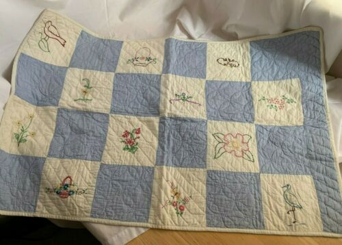 Awesome Nursery Rhymes Disappearing 9 Patch Baby Quilt Complete Kit