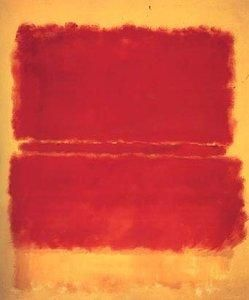 Mark Rothko 1952 Formalism, odd, yet simple and cool