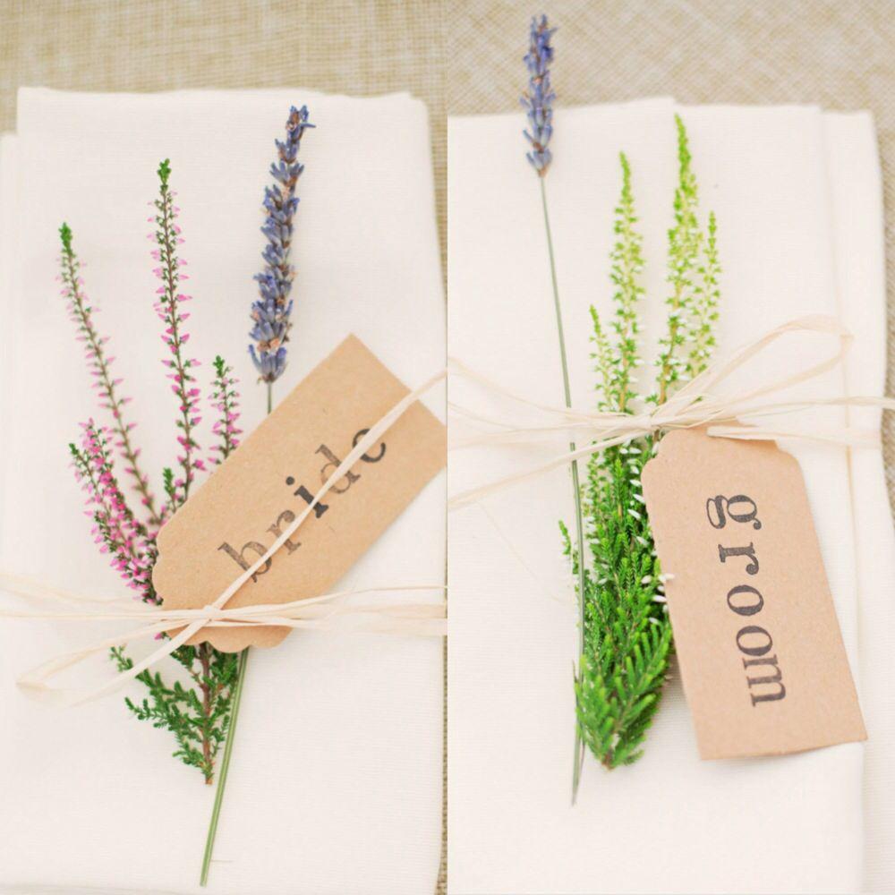 Wedding Place Name Ideas: Table Setting; Place Names; 2013 Wedding; Scottish Wedding