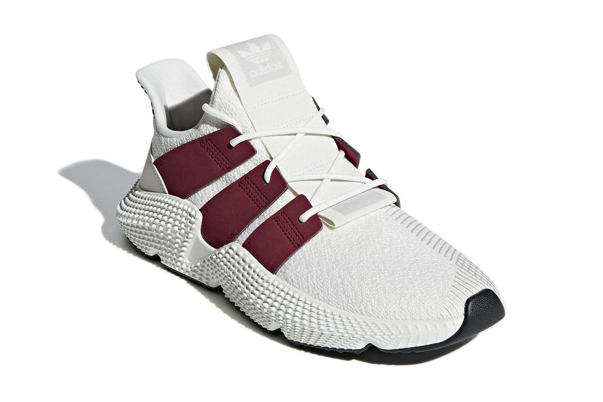 5bd331f3ac5 adidas Prophere Cloud White Noble Maroon fall 2018 release info sneakers