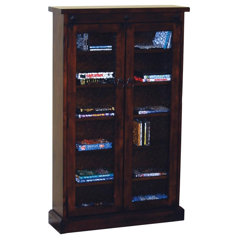 Santa Fe 2 Door Media Cabinet By Sunny Designs Media Storage Cabinet Storage Tall Cabinet Storage