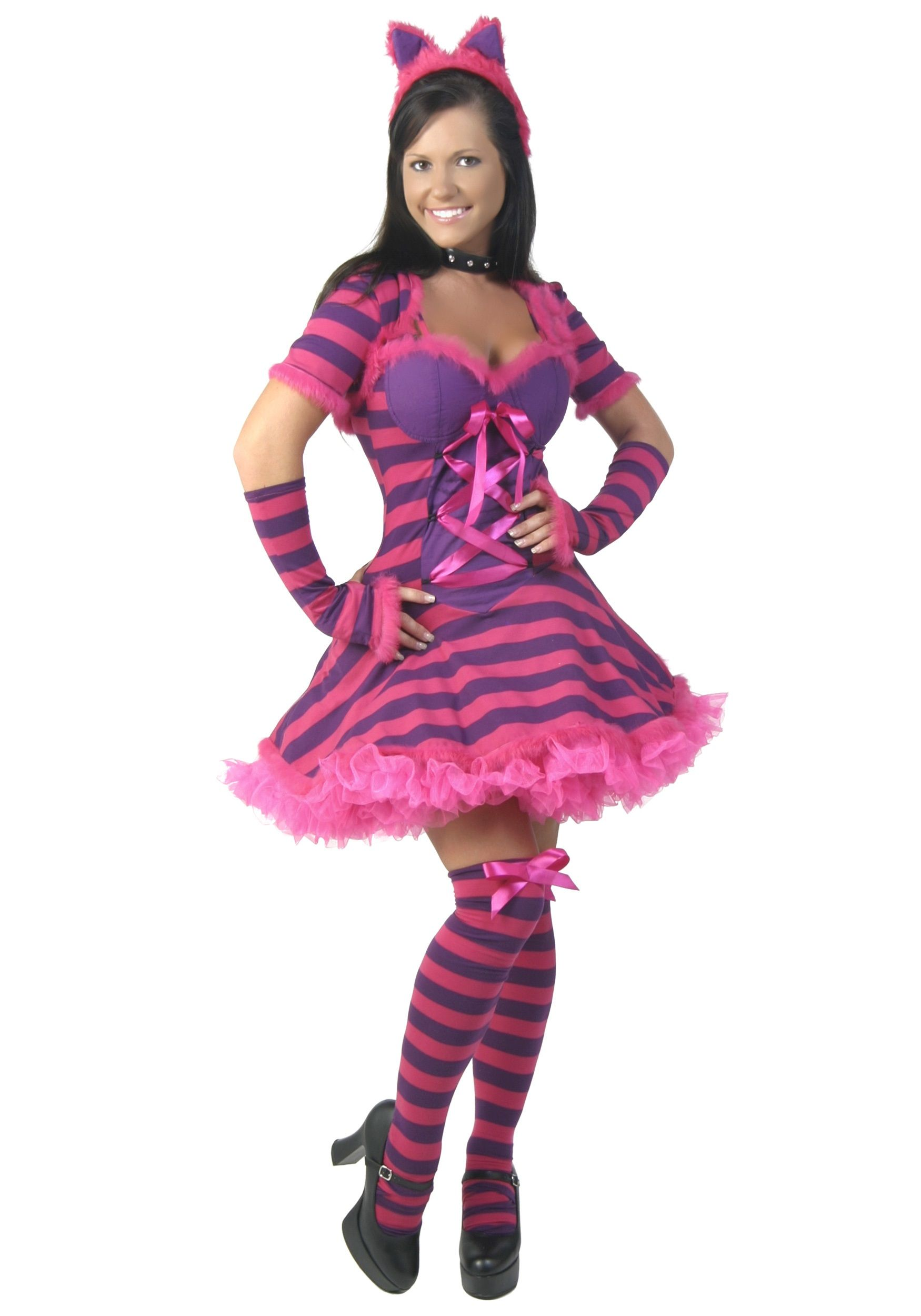 Sexy Wonderland Cat Costume | Best Costumes, Cheshire cat costume ...