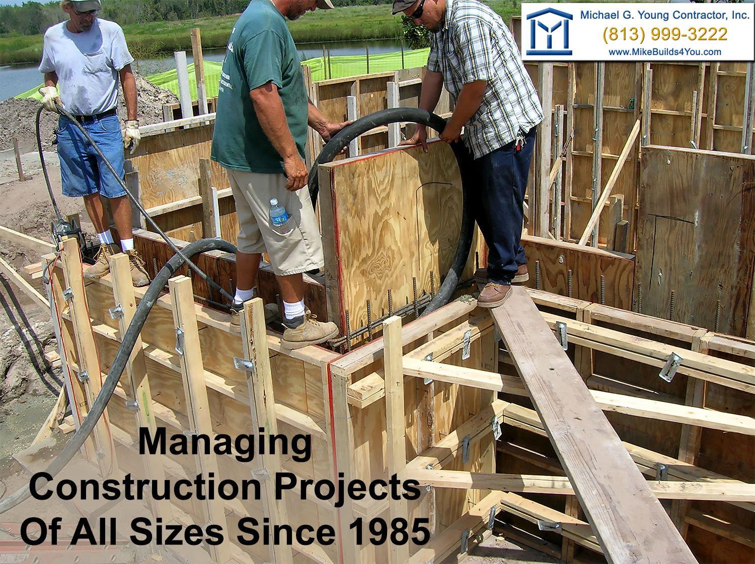 From custom homes to all types of commercial buildings we