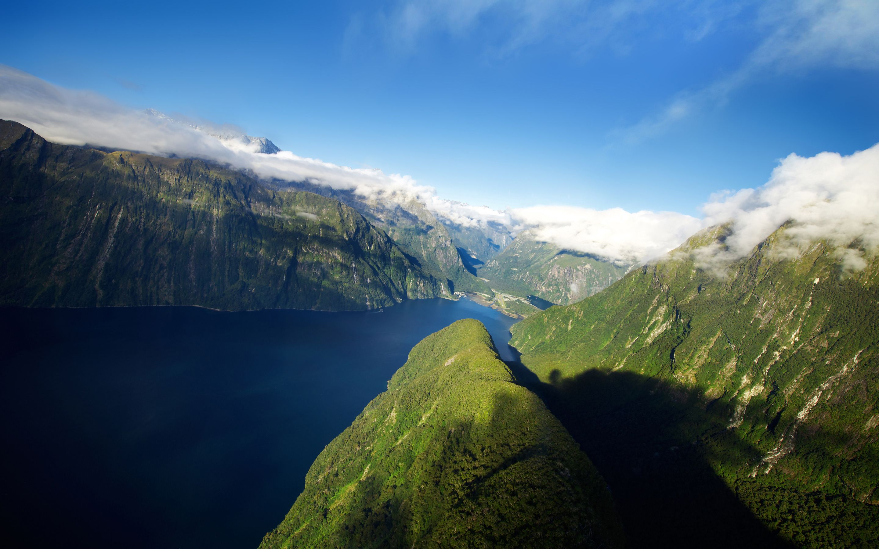 Fiords Of New Zealand Photography Wallpaper Nature Photography Landscape Wallpaper