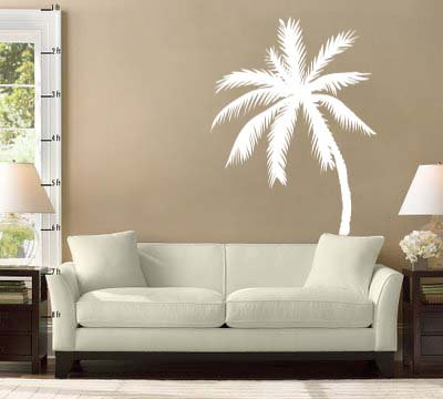 Palm Tree Vinyl Wall Decal Sticker 72