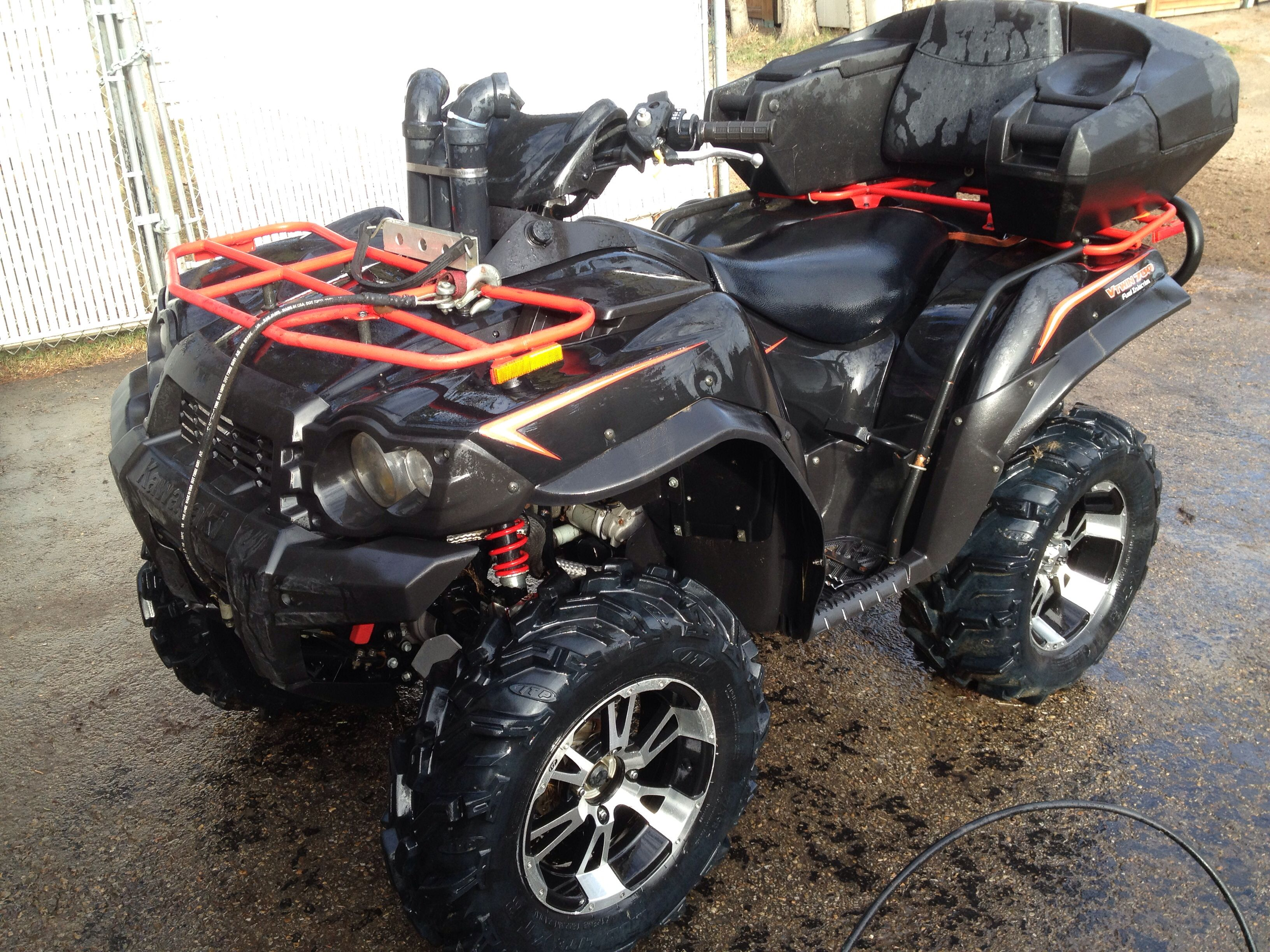 my quad 2008 kawasaki 750 brute force let 39 s go for a rip pinterest atv and vehicle. Black Bedroom Furniture Sets. Home Design Ideas