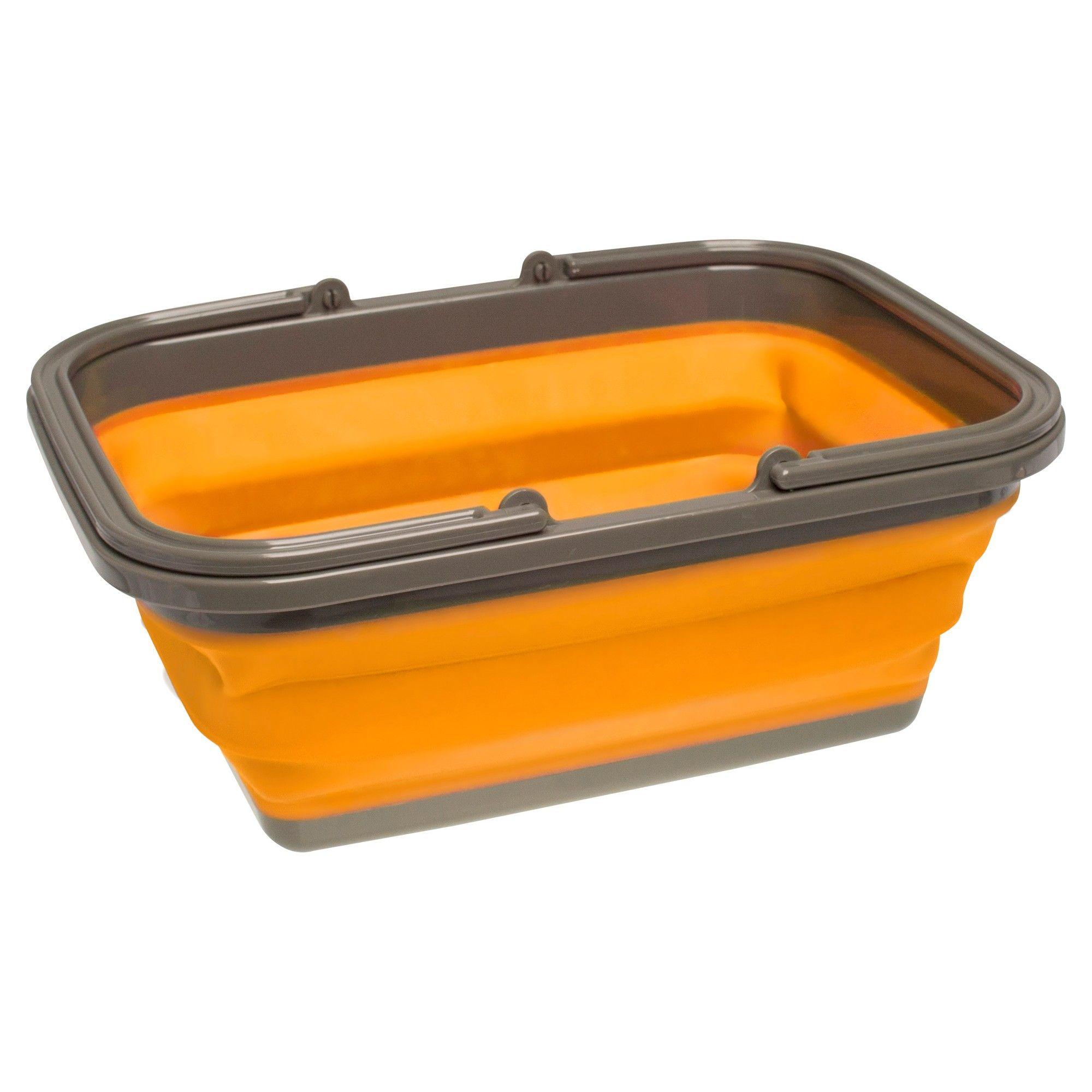 Ust Flexware Sink Orange Camping Supplies Camping Sink