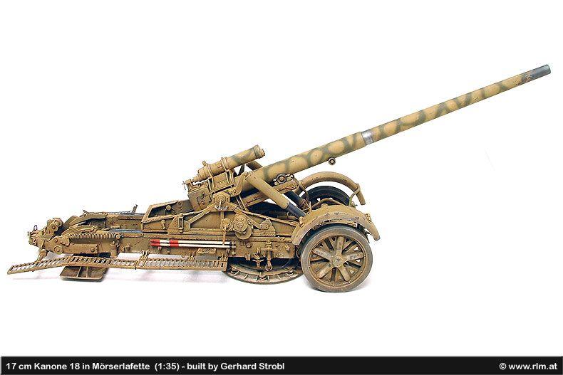17 cm Kanone 18 | WWW WW II Ge...