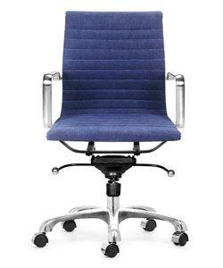 manhattan denim blue office chair overstock shopping great