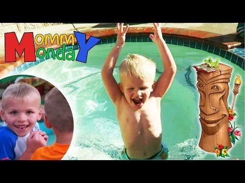 Luau Party, Puppy Gets a Name || Mommy Monday - YouTube
