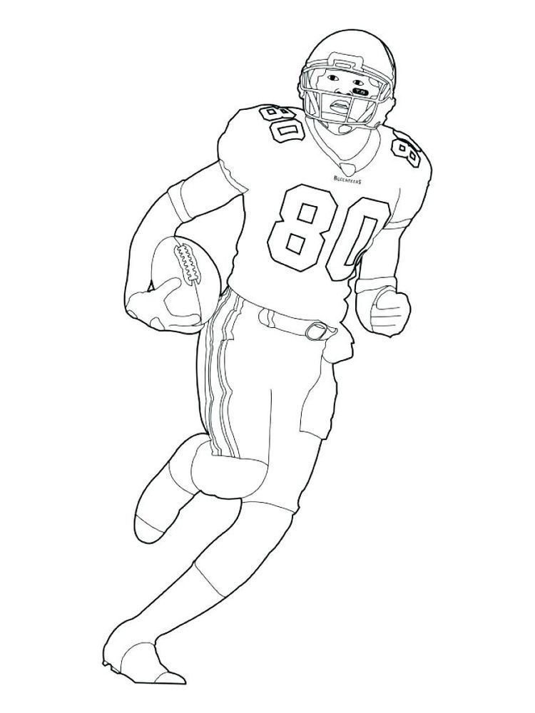 college football player coloring pages. American football