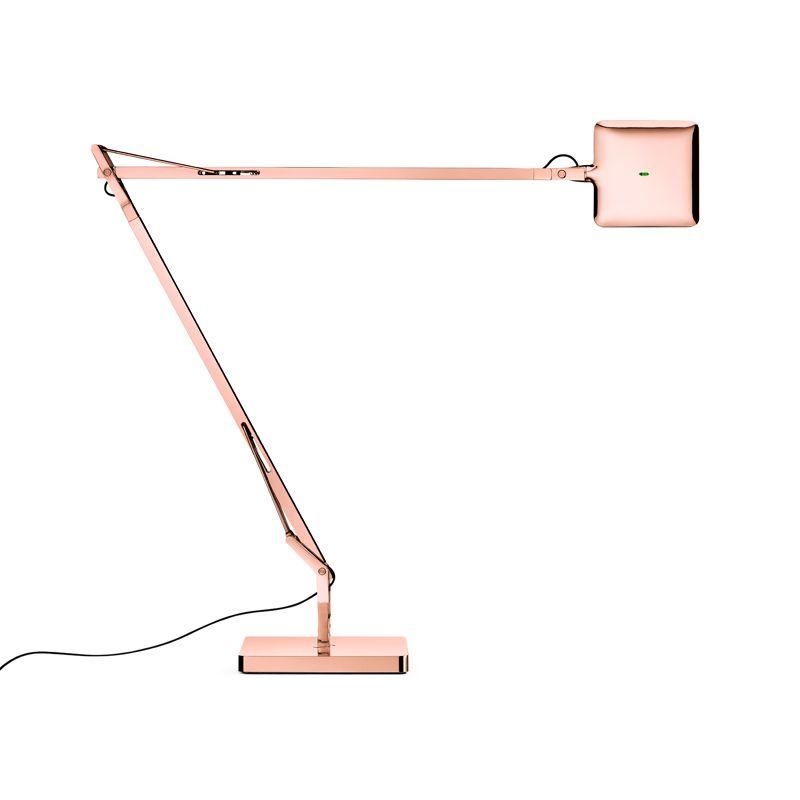 Kelvin Led Green Mode I Table Lamp With Light Adjusting Sensor Copper Table Lamp Led Table Lamp Flos
