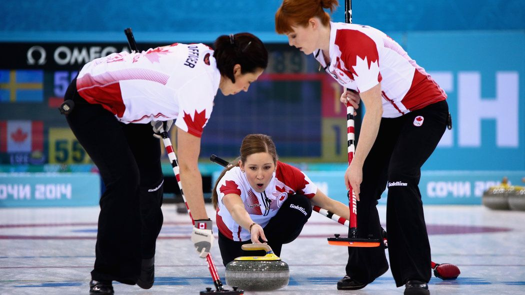 Canada wins gold in Curling Olympic curling, Women's