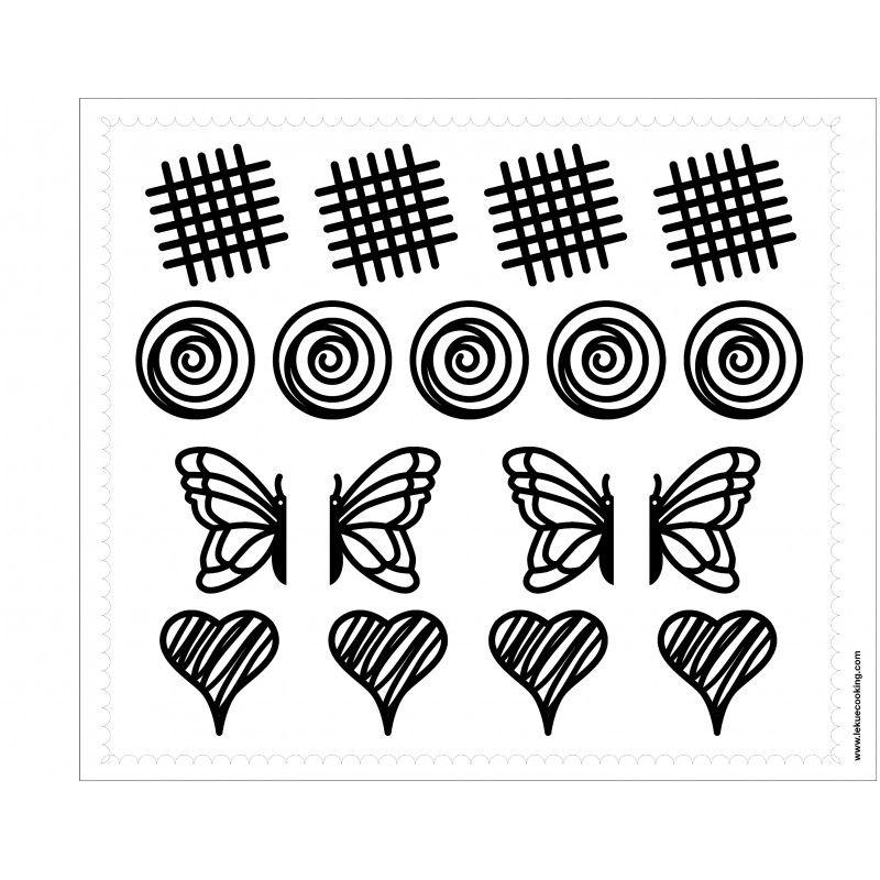 800 800 patrones pinterest figuras de chocolates y - Decoracion con chocolate ...