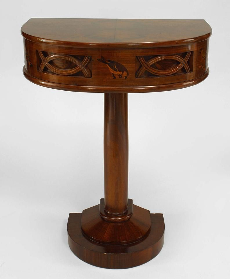 Art Deco Continental Table Console Table Rosewood Art Deco