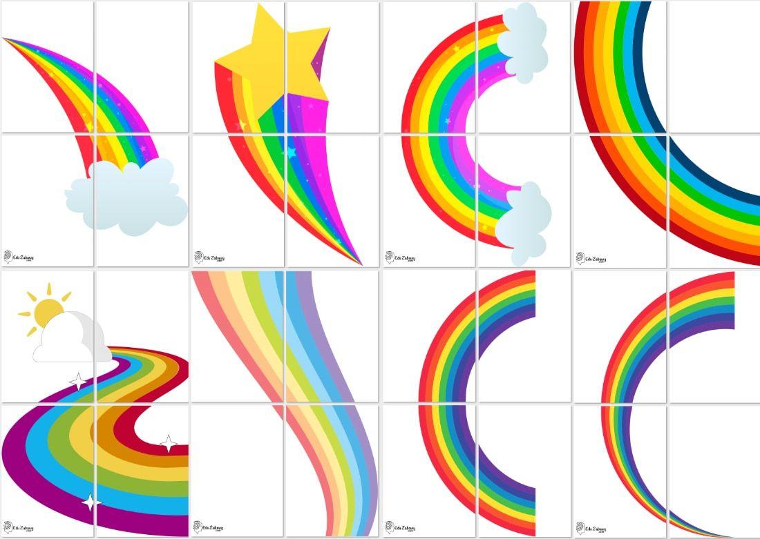 Dekoracje Xxl Tecza 8 Szablonow In 2020 Peace Symbol Symbols Peace