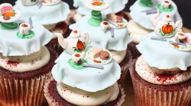 cupcake thé