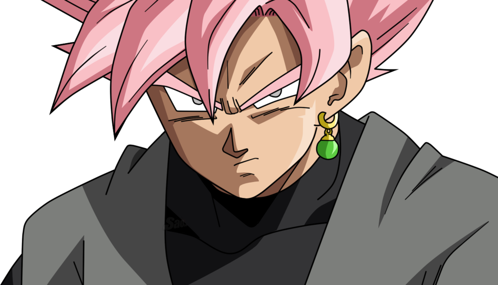 Black SSJ Rose v6 by SaoDVD Goku black, Dragon ball art