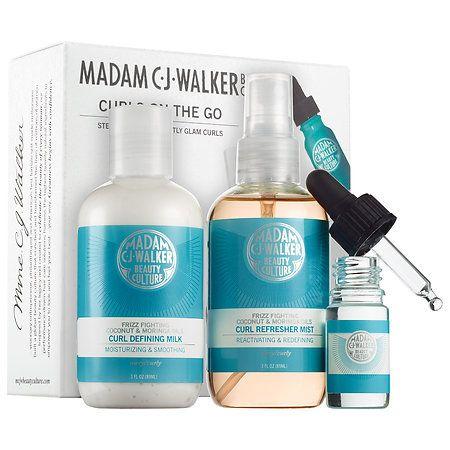 Curls On The Go Madam C J Walker Beauty Culture Sephora Sephora Beauty Hair Care Solutions