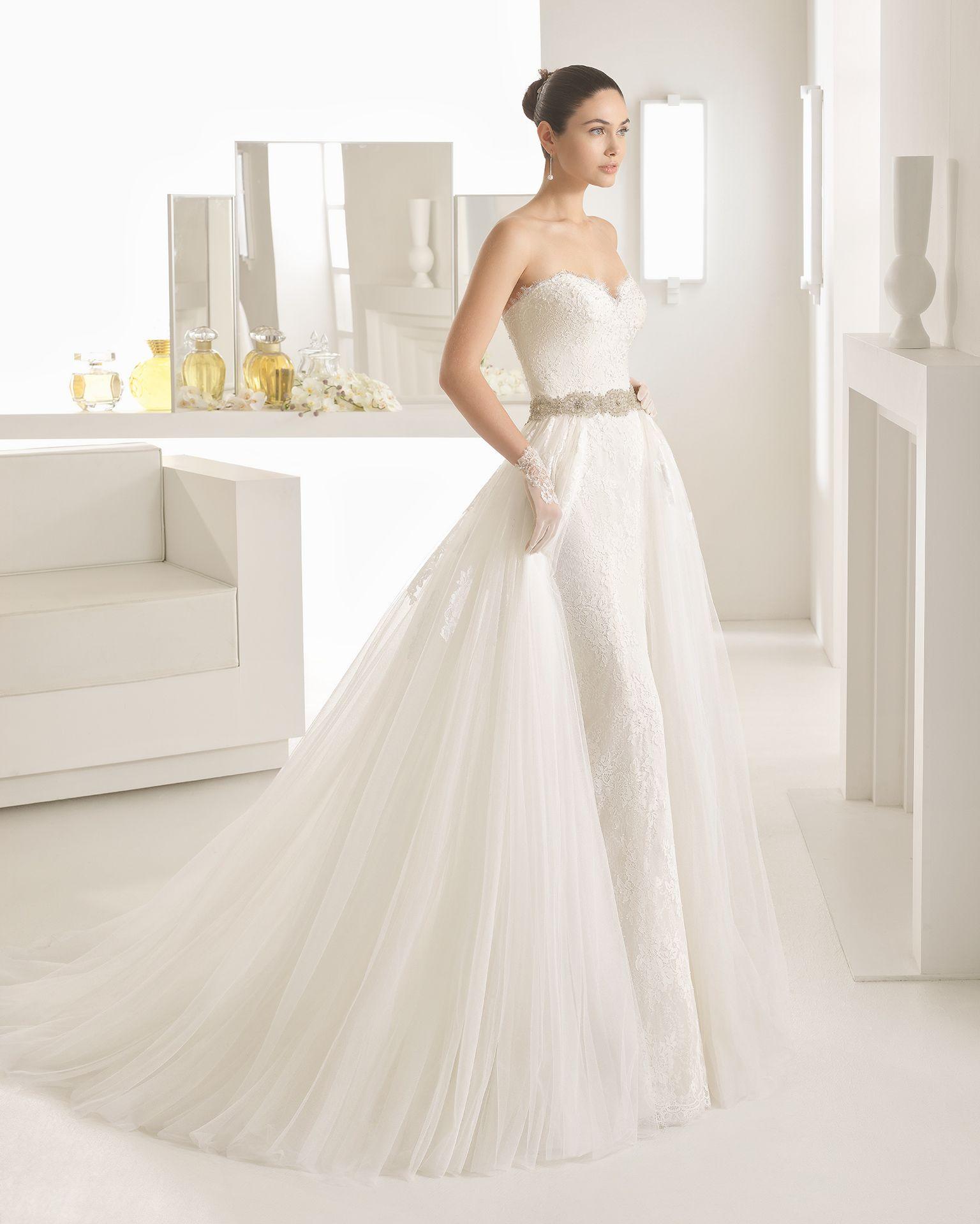OCCIDENTE - Sposa 2017. Collezione Rosa Clará Two | Wedding dress ...