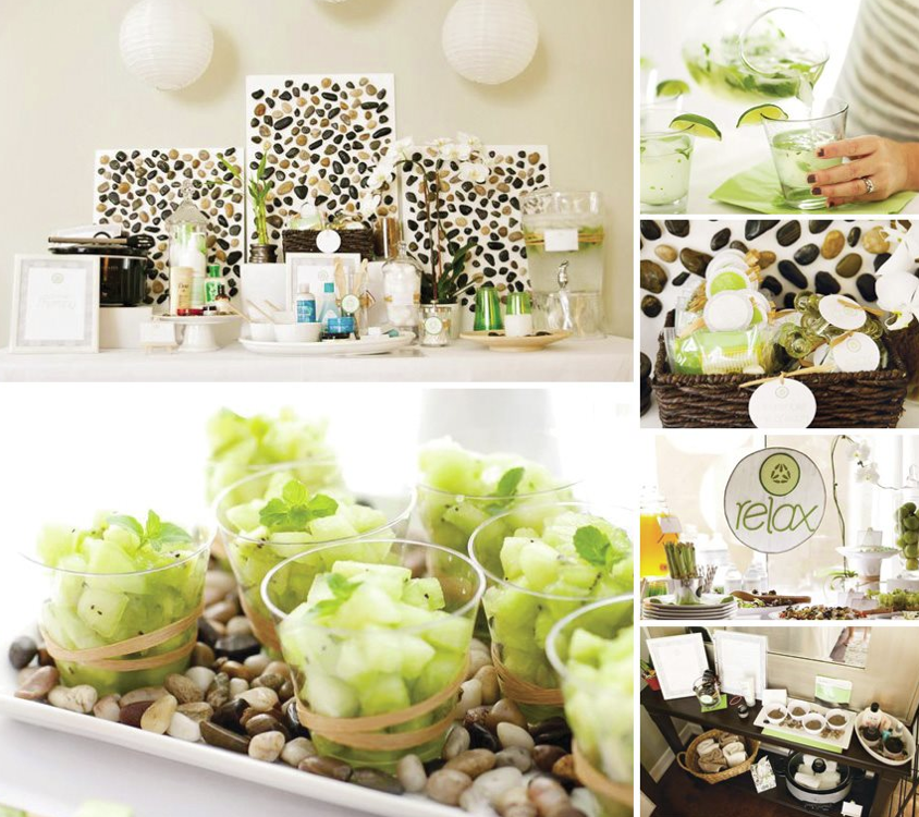 Zen Party Spa Party Favors Girl Spa Party Spa Party